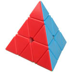 Zcube Pyraminx Stickerless Magic Cube Standard Color