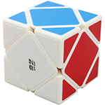 QiYi QiCheng Skewb Magic Cube White