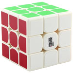 MoJue M3 3x3x3 Speed Cube 56mm White