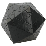MF8 & OSKAR Icosahedron Version III Magic Cube Puzzle Black