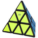 QiYi QiMing Pyraminx Magic Cube Black