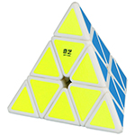 QiYi QiMing Pyraminx Magic Cube White
