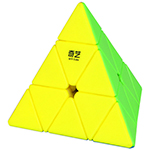 QiYi QiMing Pyraminx Stickerless Magic Cube