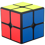 MF2s 2x2x2 Magic Cube Black