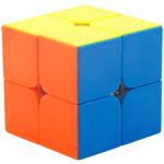 MF2s 2x2x2 Magic Cube Bright Stickerless