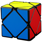 MoYu Magnetic Positioning Skewb Speed Cube Black
