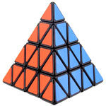 ShengShou 4-layer Pyraminx Speed Cube Black