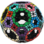 Verypuzzle Void Truncated Icoaldodecahedron Version I Black