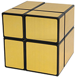 ShengShou 2x2x2 Mirror Block Magic Cube Golden