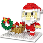 Mini Blocks Christmas Santa 314Pcs Blocks Building Set Puzzl...