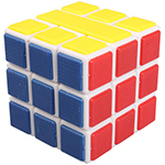 Cubetwist Two Bar 3x3x3 Bandaged Cube White