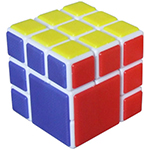 Cubetwist Fused 3x3x3 Bandaged Cube White