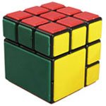 Cubetwist Big Block 3x3x3 Bandaged Cube Black