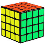 QiYi Mofangge WUQUE 4x4x4 Speed Cube 62mm Black