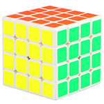 QiYi Mofangge WUQUE 4x4x4 Speed Cube 62mm White