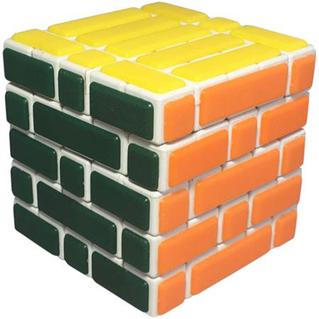 Cubetwist Wall 5x5x5 Bandaged Cube White_4x4x4 & Up_Cubezz com