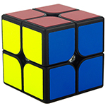GuoGuan XingHen 2x2x2 Speed Cube Black
