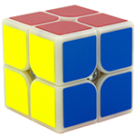 GuoGuan XingHen 2x2x2 Speed Cube Primary Color