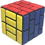 Cubetwist Wall 4x4x4 Bandaged Cube Black