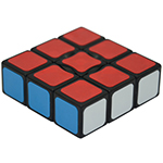 YongJun 1x3x3 Magic Cube Black