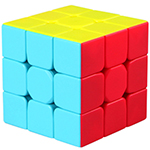QiYi Warrior W 3x3x3 Stickerless Magic Cube