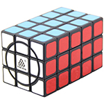 WitEden Super 3x3x5 Cuboid Cube Version 00 Black