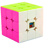 Cubing Classroom MF3RS 3x3x3 Pink Stickerless Magic Cube