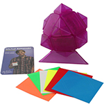 MoYu Magnetic Positioning Skewb Speed Cube Limited Edition Transparent Purple