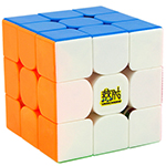 YAN3 3x3x3 Stickerless Speed Cube 56mm