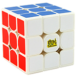 YAN3 3x3x3 Speed Cube 56mm White
