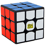 YAN3 3x3x3 Speed Cube 56mm Black