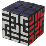 TC Maze 3x3x3 Magic Cube Black