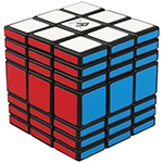 C4U Fully-Functional 3x3x7 Magic Cube Black