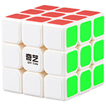 QiYi SAIL 3x3x3 Magic Cube White 60mm