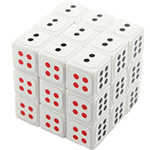 Maru Mini 3cm Dice 3x3x3 Magic Cube