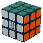Maru Mini 3cm 3x3x3 Magic Cube Transparent Blue