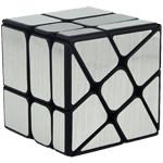 Cube Classroom Windmirror Magic Cube Brushed Silver