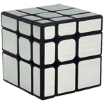 Cubing Classroom Mirror S 3x3x3 Brushed Silver Stickered Magic Cube