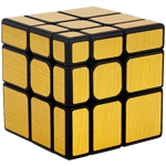 Cubing Classroom Mirror S 3x3x3 Brushed Golden Stickered Magic Cube