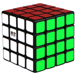 QiYi QiYuan 4x4x4 Magic Cube Black