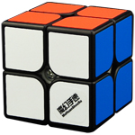 MoHuanShouSu Chuwen 2x2x2 Speed Cube Black