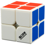 MoHuanShouSu Chuwen 2x2x2 Speed Cube White