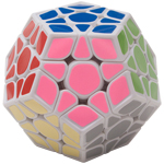 ShengShou Pearl Megaminx Speed Cube White