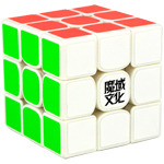 MoYu Weilong GTS2 3x3x3 Speed Cube White