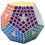 ShengShou 6x6x6 Megaminx Magic Cube White