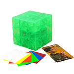 MoYu AoLong V2 3x3x3 Speed Cube Limited Edition Transparent Green