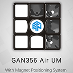 GAN356 Air UM with Magnet Positioning System Black