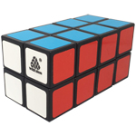 WitEden Fully Functional 2x2x4 Cuboid Cube Black