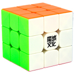 MoYu Weilong GTS2M Magnetic 3x3x3 Stickerless Speed Cube