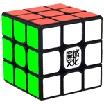 MoYu Weilong GTS2M Magnetic 3x3x3 Speed Cube Black